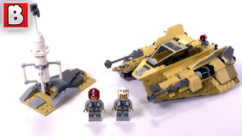 LEGO Star Wars Sandspeeder 75204! Target Gift Card GIVEAWAY! | Unbox Build Time Lapse Review