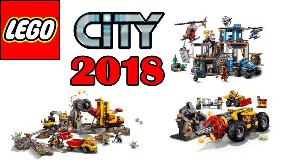 ALL NEW LEGO City 2018 Sets Wave 2 (Mountain Police,Mining)
