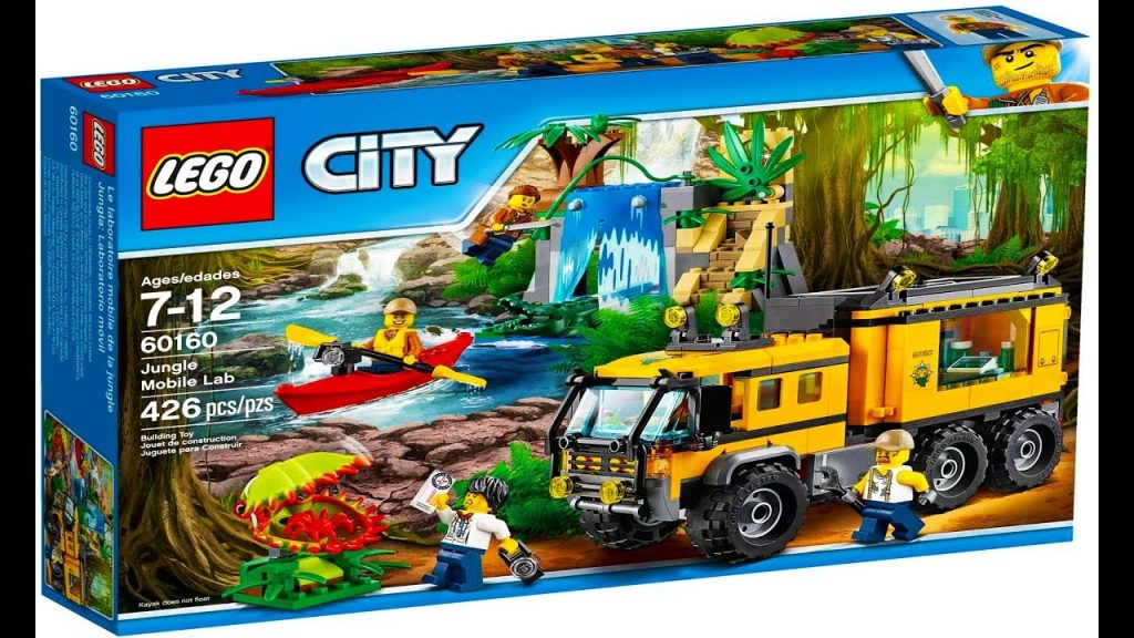 Lego City 60160 Jungle Mobile Lab – Lego Stop Motion