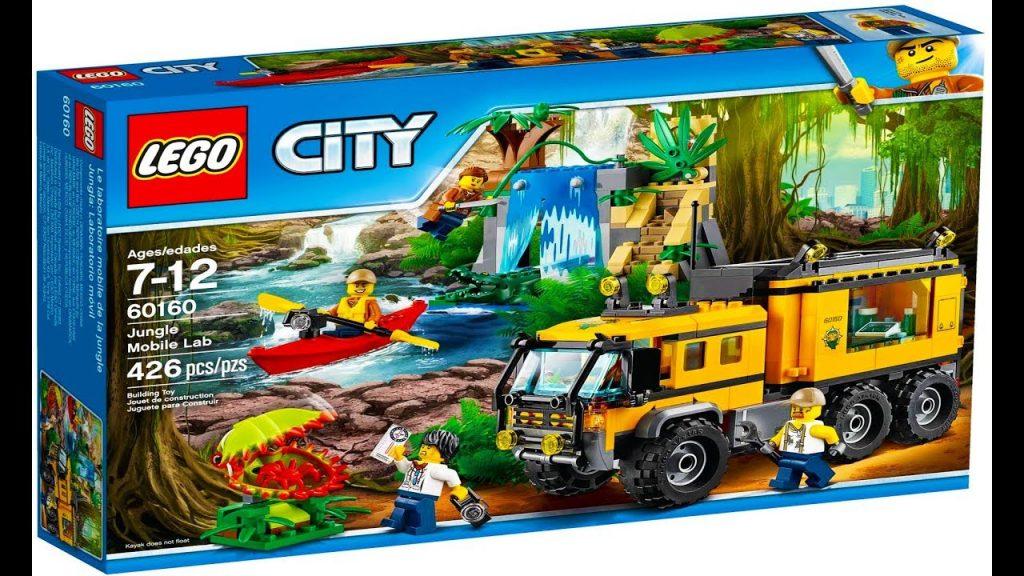 Lego City 60160 Jungle Mobile Lab – Lego Stop Motion