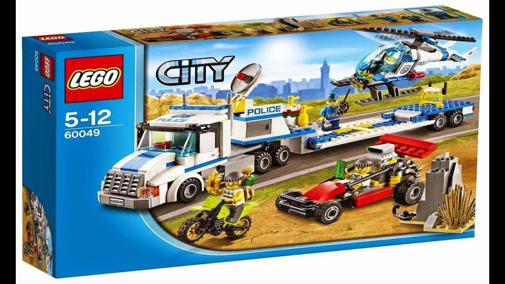 Lego City 60049 Helicopter Transporter – Lego Stop Motion