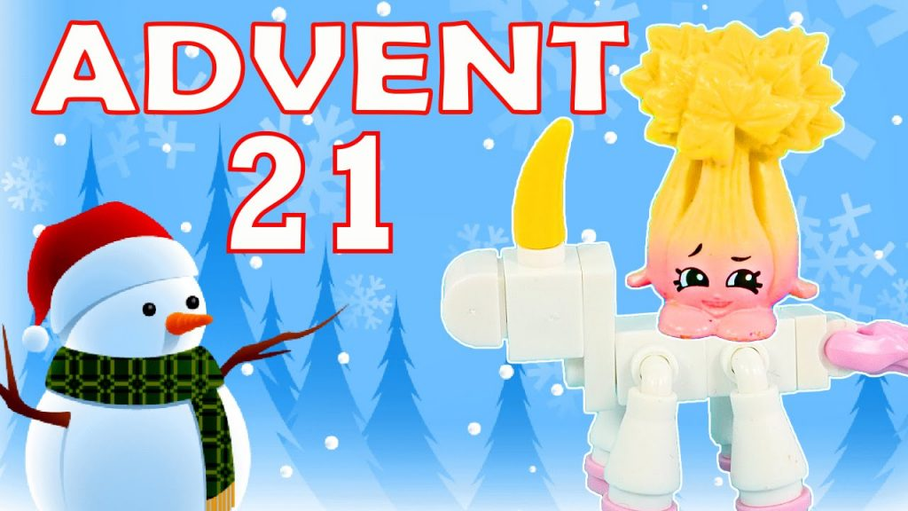 Toy Advent Calendar Day 21 – – Shopkins LEGO Friends Play Doh Minions My Little Pony Disney Princess