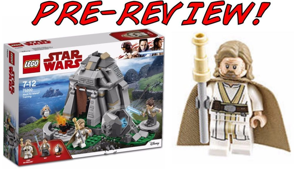 LEGO Star Wars 75200 Ahch-To Training Pre-Review! (LEGO Star Wars Wars 2018 Set!)
