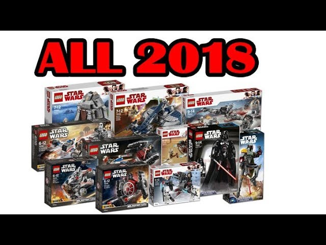 ALL LEGO Star Wars 2018 Official Set Images Winter wave