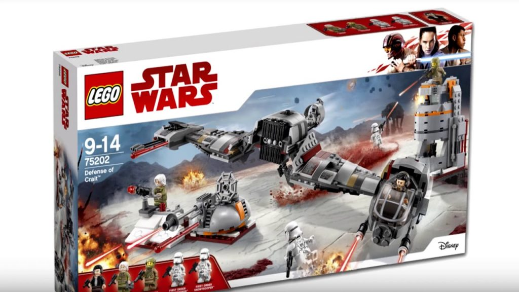 New Lego Star Wars 2018 Winter Sets! Лего СКАТИЛОСЬ!