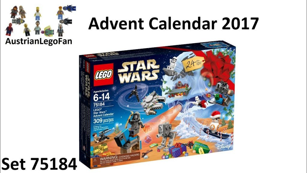 Lego Star Wars 75184 Star Wars Advent Calendar 2017 – Lego Speed Build Review
