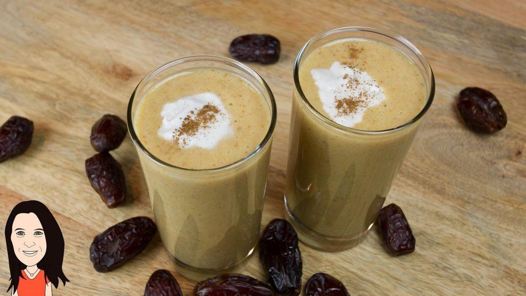 Vegan Salted Caramel Shake – Great Breakfast Smoothie!