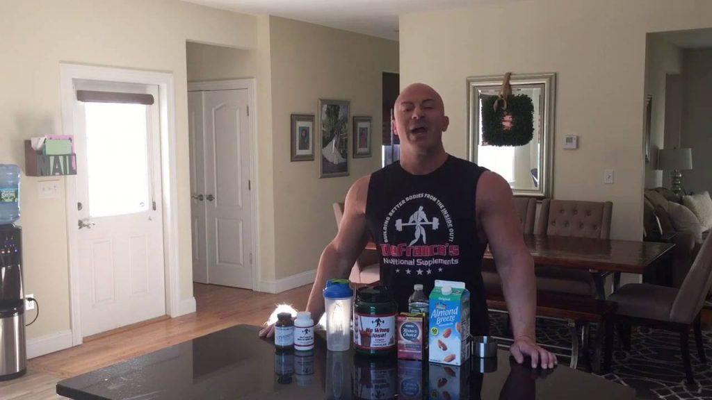 Joe D's favorite PRE-Workout / Breakfast Shake
