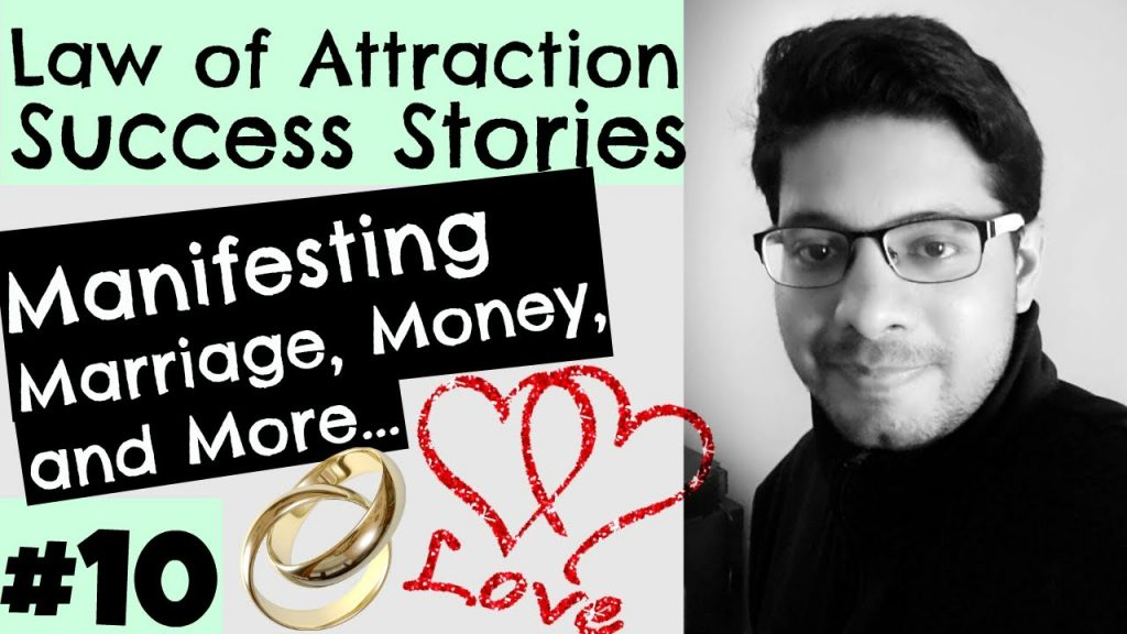 Law of Attraction Success Series #10 – Attracting love & marriage, romance, soulmate, relationship
