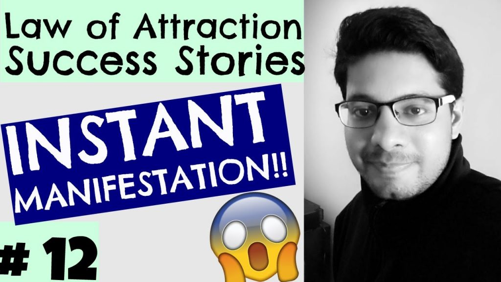 Law of Attraction Success Series #12 – Instant Manifestation, Success in Exams, Powerful Technique