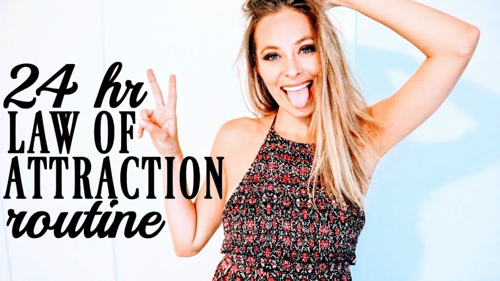 24 HOUR MANIFESTATION ROUTINE | The Law Of Attraction