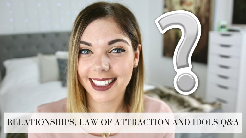 RELATIONSHIPS, LAW OF ATTRACTION AND IDOLS | Q&A | Emma Mumford