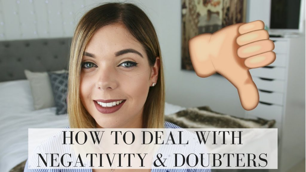HOW TO DEAL WITH NEGATIVITY & DOUBTERS | LAW OF ATTRACTION | Emma Mumford