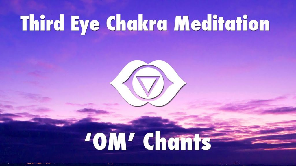 1 Hour Magical Chants for Third Eye Chakra Meditation [ OM ] | Chakra Healing Open Music