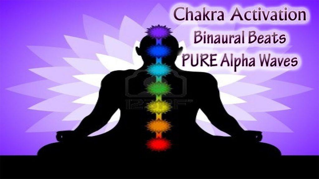 *FULL* CHAKRA HEALING CLEANSING MEDITATION  (Root to Crown activation) | Alpha Binaural Beats