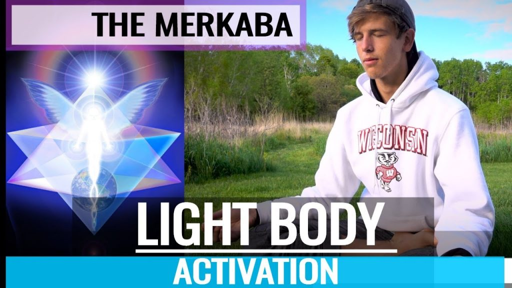 The Merkaba – How To FULL LIGHT BODY ACTIVATION (Psychic Energy Healing MEDITATION TECHNIQUES)