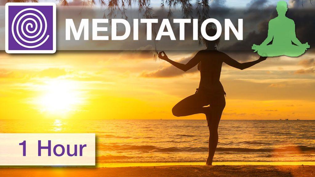 1 Hour ☯ Meditation Music for Positive Energy, Healing Music, Reiki Meditation