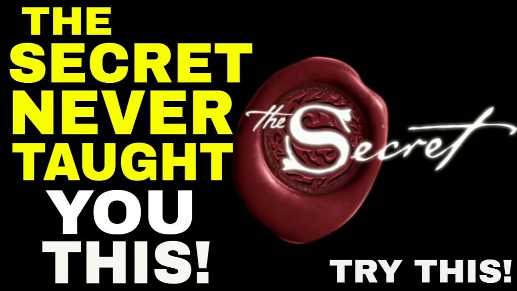 #1 Most Powerful Law Of Attraction Technique They Didn't Tell You In The Secret | LIFE-CHANGING!