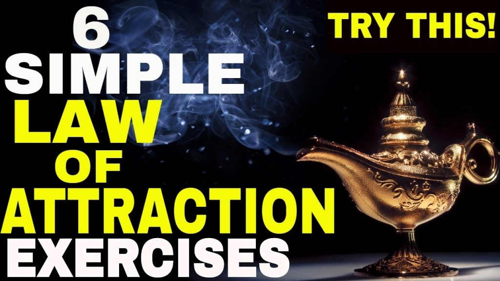 6 Law of Attraction Exercises to Increase Your Manifestation Power | Most Powerful Secret Techniques