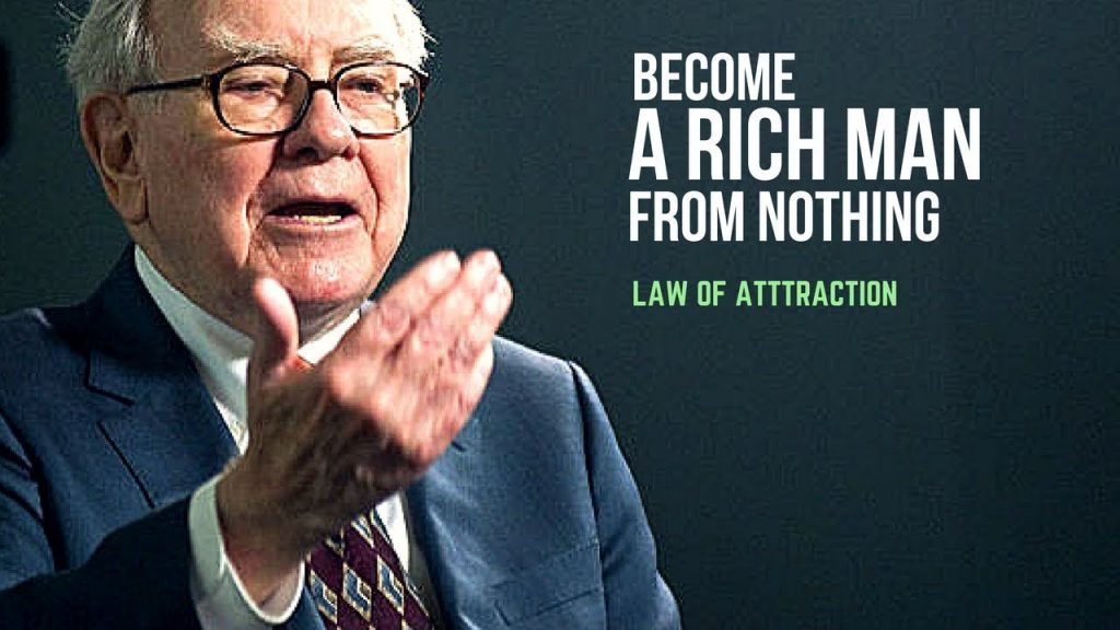 Law of Attraction: How to Become a Rich Man from Nothing