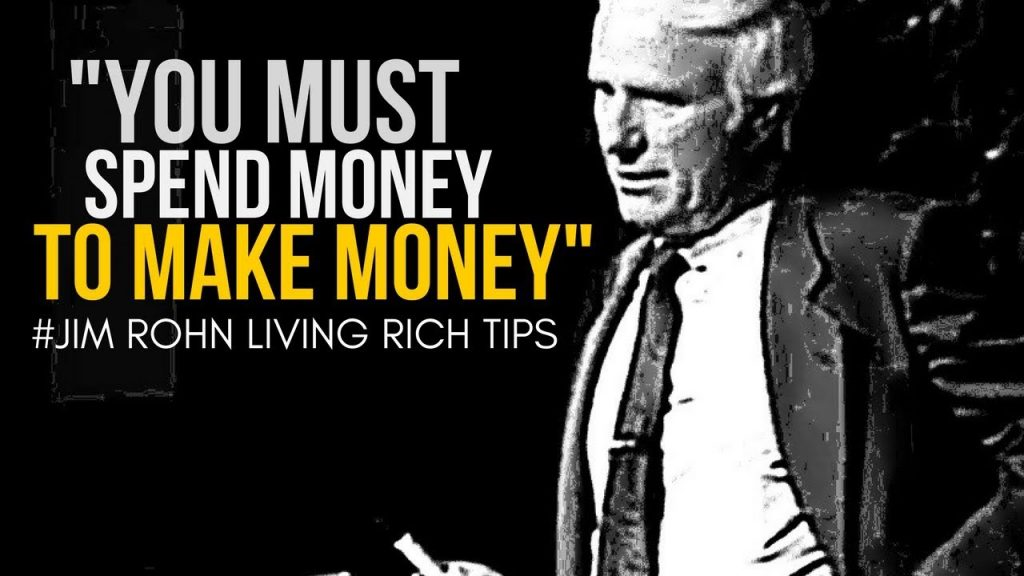 Jim Rohn: How to Gain Financial Freedom | Law of Attraction