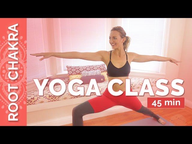 Grounding Yoga Sequence for The Root Chakra – Muladhara Chakra Yoga Flow | Chakra Challenge