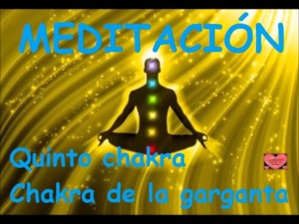 MEDITACIÓN   Quinto chakra   Chakra de la garganta ,