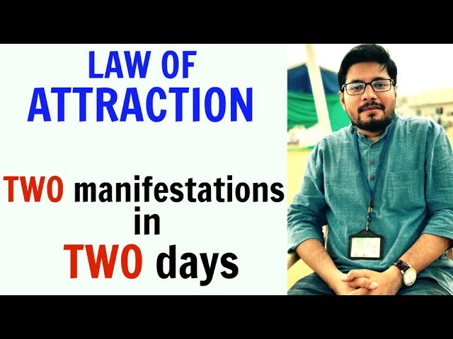 MANIFESTATION #43: How to Really Start Manifesting Fast with Law of Attraction | Success Story