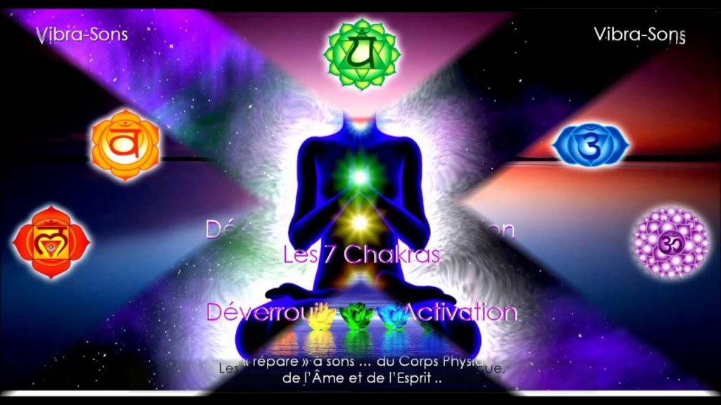 Déverrouillage et Activation 7 chakras