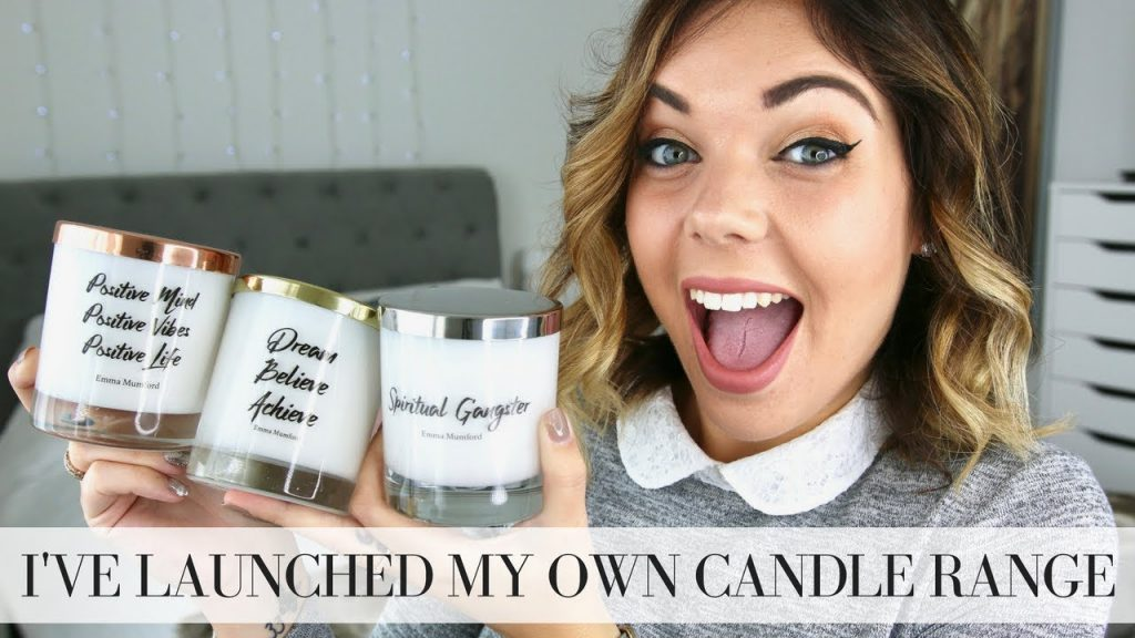 I'VE LAUNCHED MY OWN SPIRITUAL CANDLE RANGE | LAW OF ATTRACTION | Emma Mumford