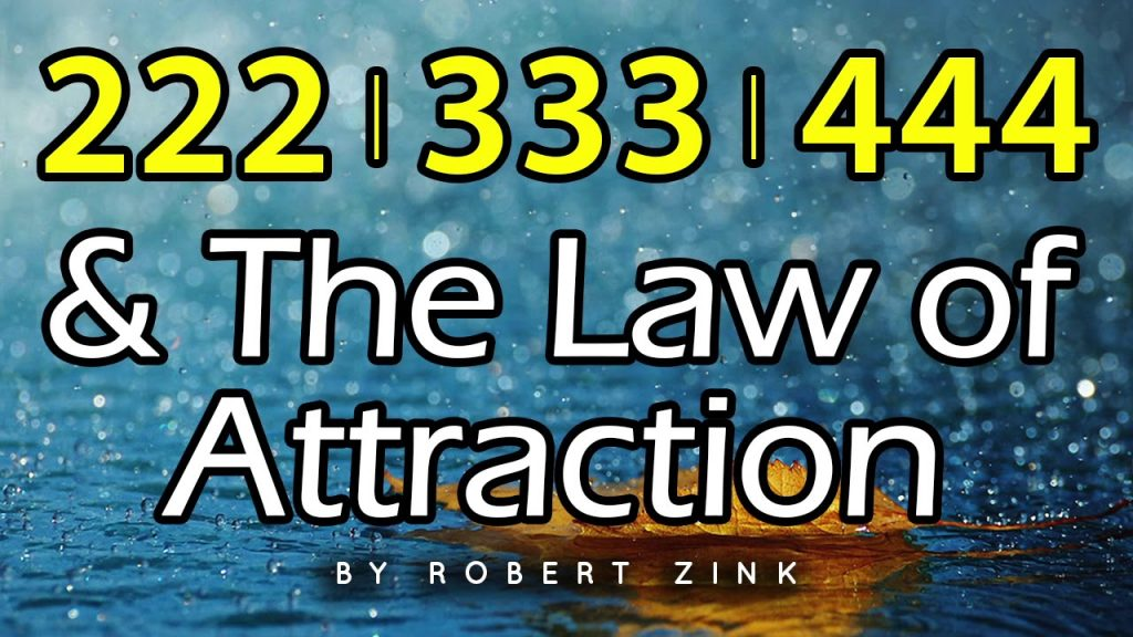 222 333 444 – Law of Attraction Power Numbers