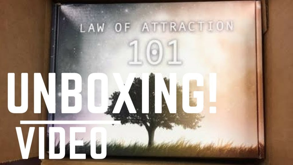 """The Unboxing of The """"Law Of Attraction 101"""" Subscription box!"""