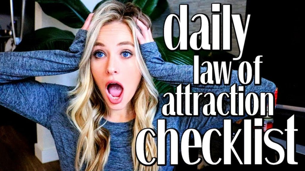 DAILY LAW OF ATTRACTION CHECKLIST TO MANIFEST FASTER | Free Downloadable Template // Simply Ney