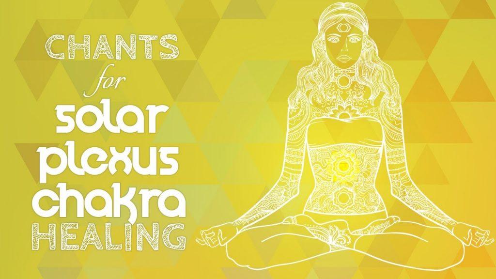 Soothing SOLAR PLEXUS CHAKRA CHANTS – Seed Mantra RAM Chanting Meditation {manipura} Chakra Healing