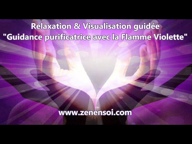 Soin vibratoire et Visualisation flamme violette : purification des chakras (entre autres lol)