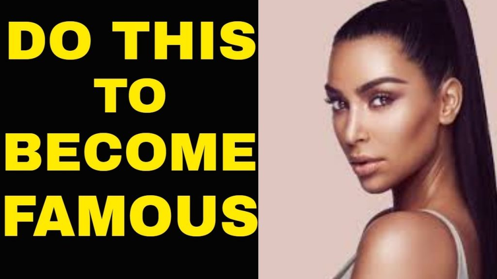 HOW TO BECOME FAMOUS Using The Law of Attraction (Seriously!) | The Secret