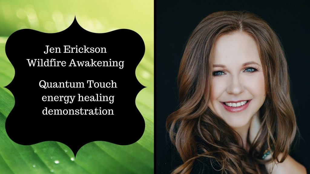 Quantum Touch energy healing demonstration
