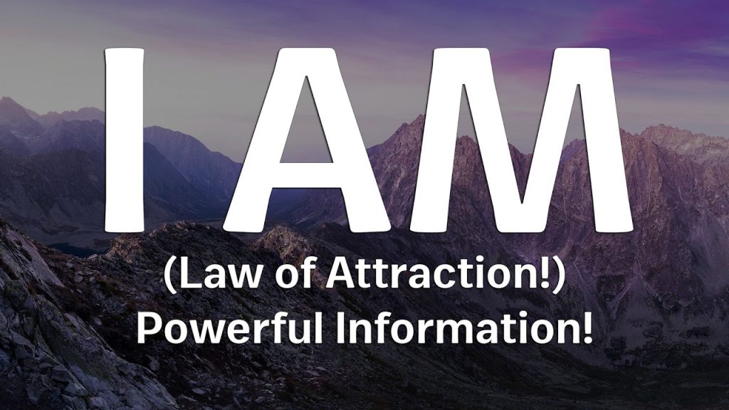I AM  – Ralph Smart (Law of Attraction!) Important Information!