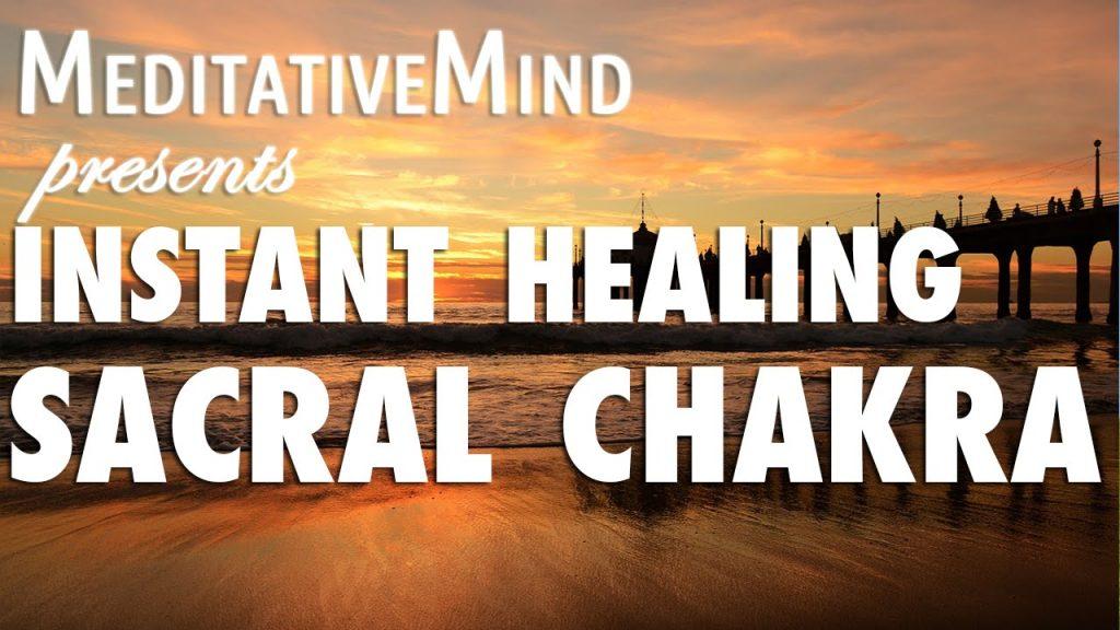 (Almost) Instant Sacral Chakra Healing Meditation Music – Svadhishthana