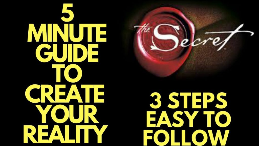 5 Minute Guide to DELIBERATELY Creating Your Reality (EASY LAW OF ATTRACTION PROCESS)