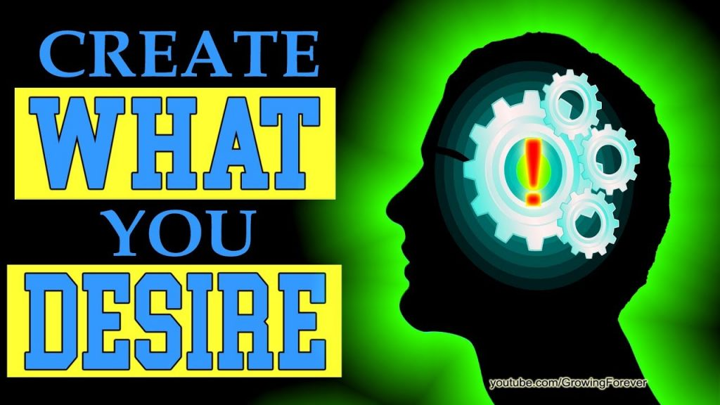 How To Create What You Desire. Subconscious Mind Power, Law Of Attraction, Wealth