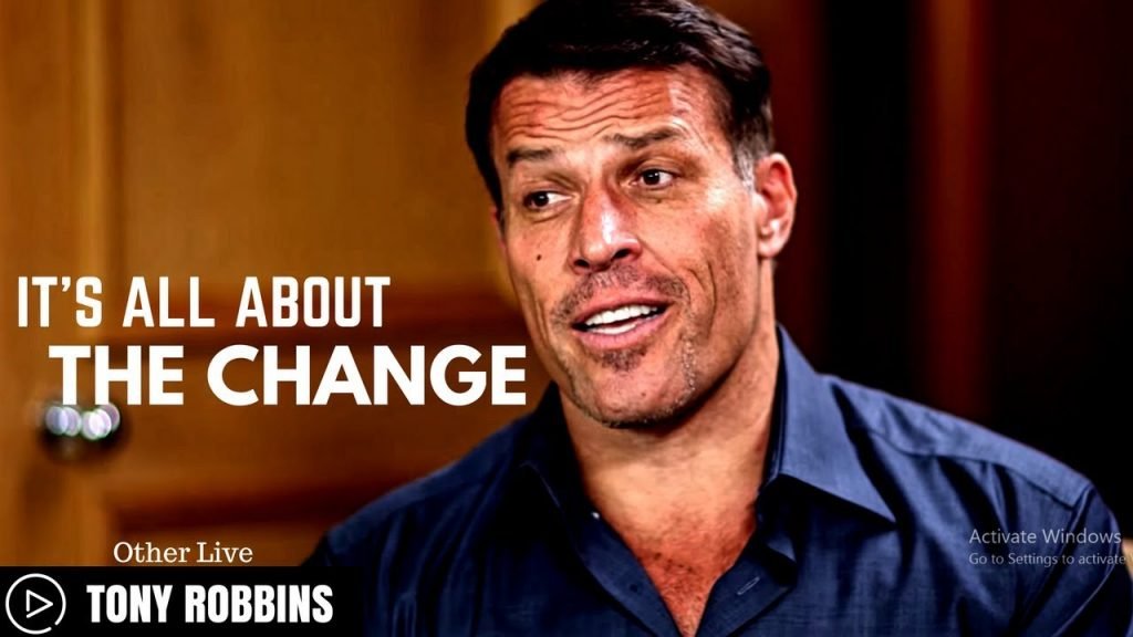 Tony Robbins: IT'S All ABOUT THE CHANGE ( Tony Robbins Law of Attraction )