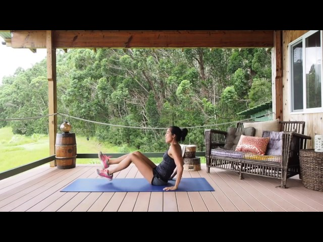 Women's Health, Fitness, Natural Wellness and Core Workout