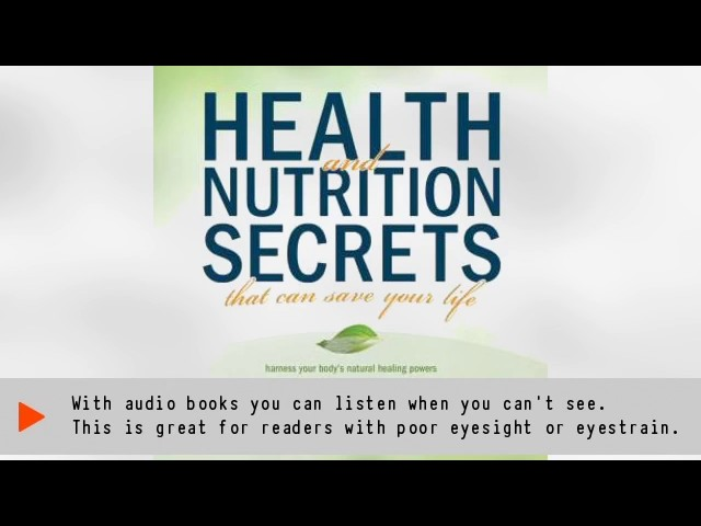 Health and Nutrition Secrets That Can Save Your Life Audiobook | Russell L. Blaylock MD