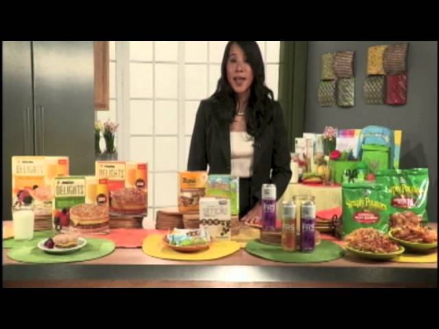 Health and nutrition expert Sharon Liao dishes on her favorite healthy meals and snacks!