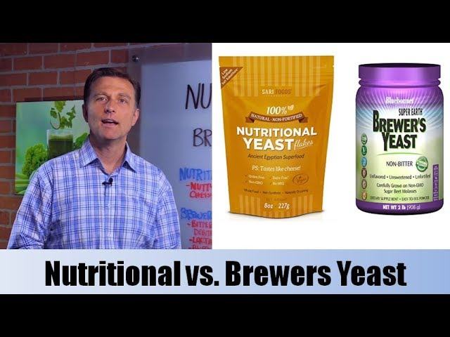 Nutritional Yeast vs. Brewers Yeast
