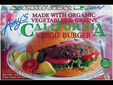 Amy's California Veggie Burger REVIEW