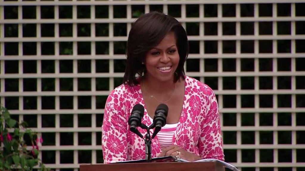 First Lady Michelle Obama in the Garden on Health and Nutrition