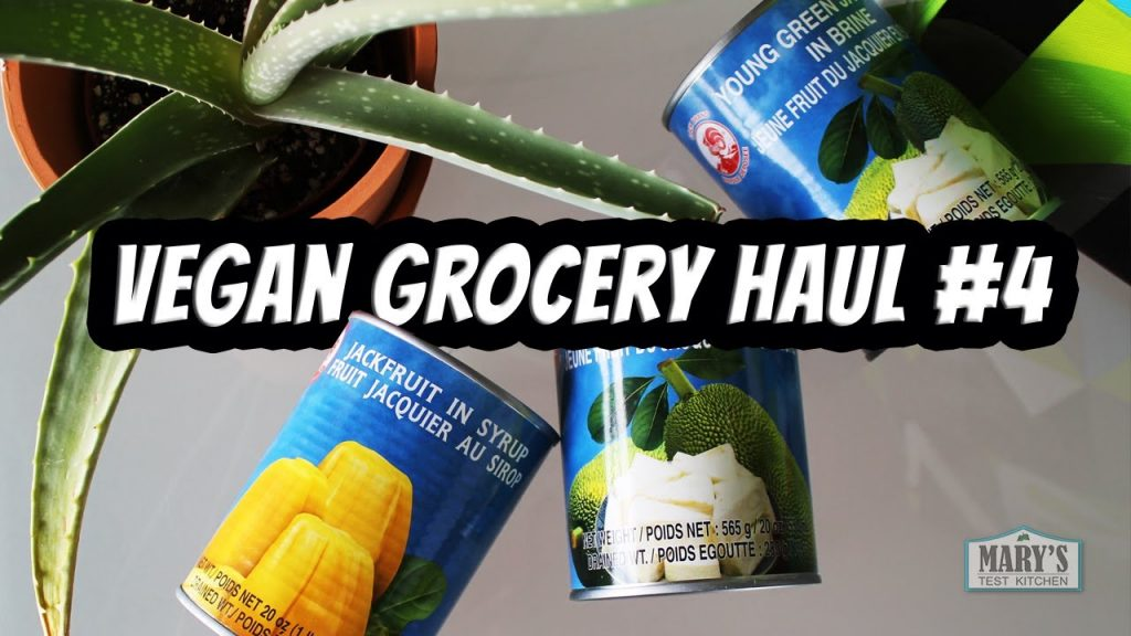GROCERY HAUL #4 – A Tale of Two Jackfruits   Mary's Test Kitchen