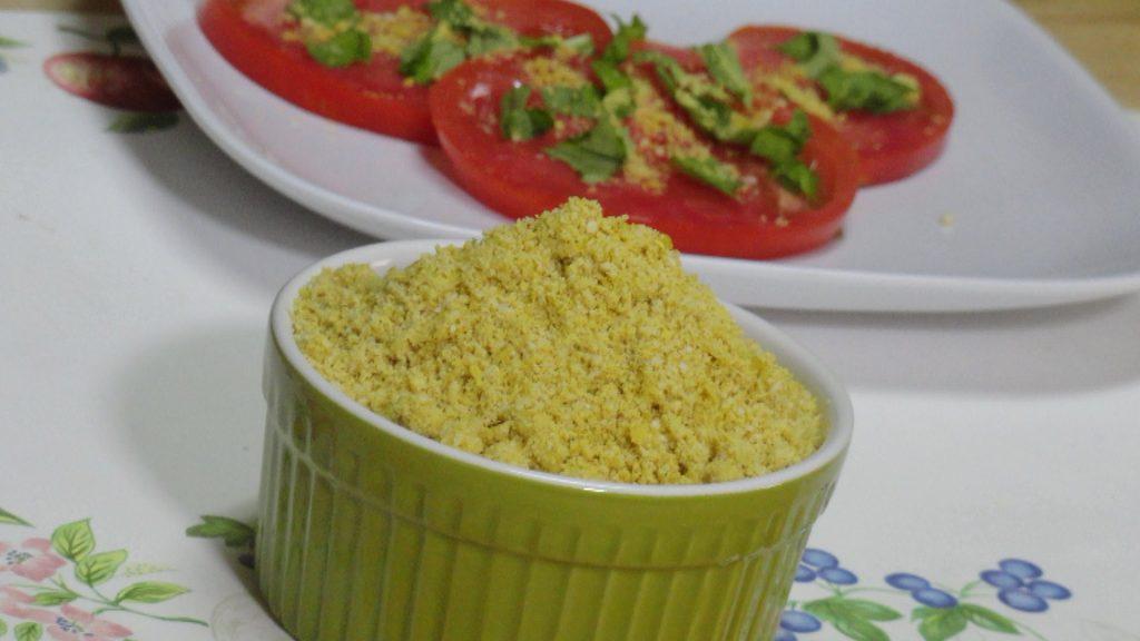 Homemade Vegan Vegetarian Parmesan Cheese Video Recipe by Bhavna